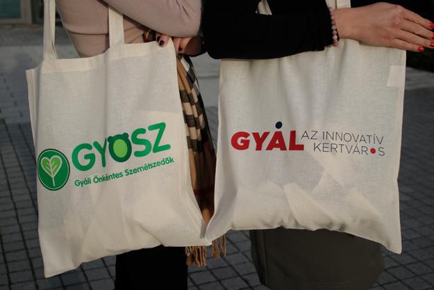 """Gyál is csatlakozott az """"Európai Hulladékcsökkentési Hét"""" elnevezésű akcióhoz"""